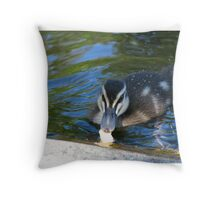 no orange sauce in sight! Throw Pillow