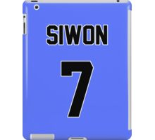 Super Junior Siwon Jersey iPad Case/Skin