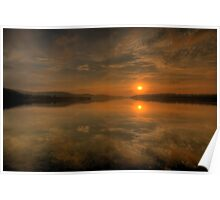 Some Days Are Diamonds - Narrabeen Lakes, Sydney - The HDR Experience Poster