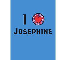 I Heart Josephine Photographic Print