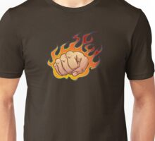 Flaming Fist Unisex T-Shirt