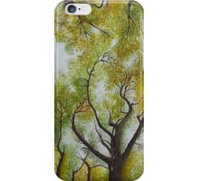 Maple Canopy forest iPhone Case/Skin