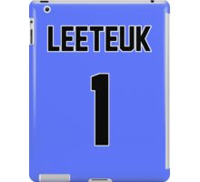 Super Junior Leeteuk Jersey iPad Case/Skin