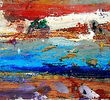 Salten Sea Abstract  by Larry3
