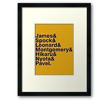 The Original Crew Framed Print