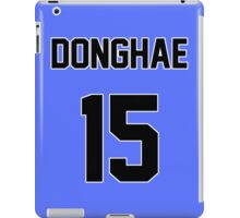 Super Junior Donghae Jersey iPad Case/Skin