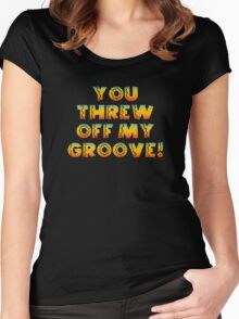 Thrown Off Groove Women's Fitted Scoop T-Shirt
