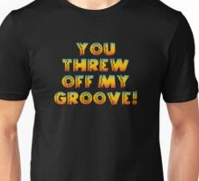 Thrown Off Groove Unisex T-Shirt