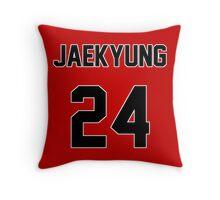 Rainbow Jaekyung Jersey Throw Pillow
