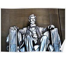 Lincoln Statue Poster