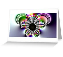 Butterfly Fractal Greeting Card