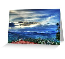 Sunset in Almora Greeting Card