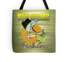 Big Game Fishing Tote Bag