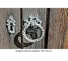 Door Knocker - 2 Photographic Print