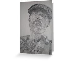Miguel-Spanish Artist Greeting Card