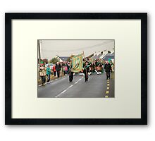 Arrival in Pollagh Framed Print