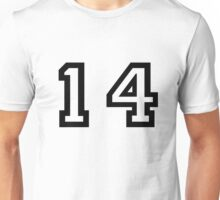 Number Fourteen Unisex T-Shirt
