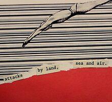 Attacks by land, sea and air. by crisunita