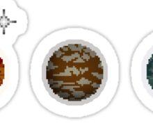 Planet Pixel Sticker