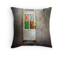 Living next door to Alice Throw Pillow