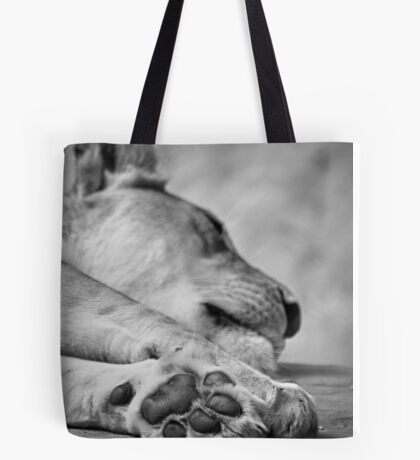 The Lion's Paw Tote Bag