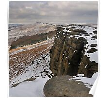 On Stanage Edge Poster