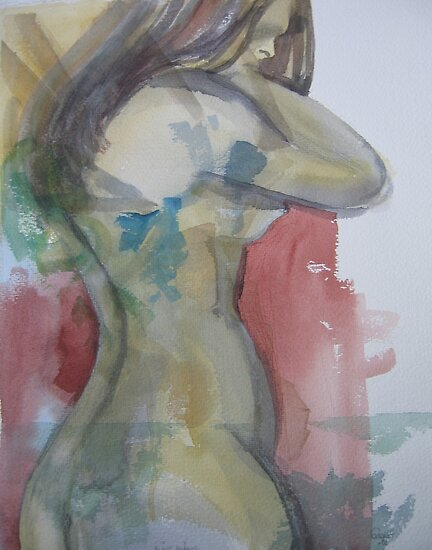 With a blue mark by Catrin Stahl-Szarka