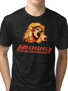 Hedwig and the Angry Inch Comic Book/Pop Art Tri-blend T-Shirt