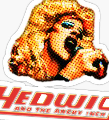 Hedwig and the Angry Inch Comic Book/Pop Art Sticker