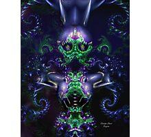 Alien Woman Collaboration Photographic Print