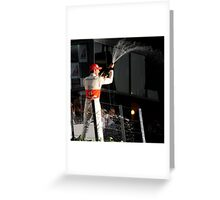 A Podium Finish - Melbourne F1 2010 #3 Greeting Card