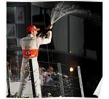 A Podium Finish - Melbourne F1 2010 #3 Poster