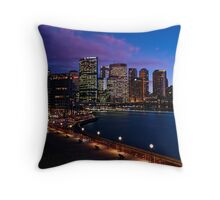 Sydney Circular Quay  Throw Pillow