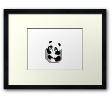 Pocket Panda Framed Print