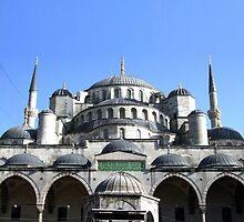 Mosque & Minarets, Istanbul, Constantinople, Byzantium by TOM HILL - Designer