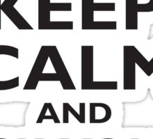 KEEP CALM, AND ASK YOUR MUM, Mother, Mummy, Ma, Black Sticker