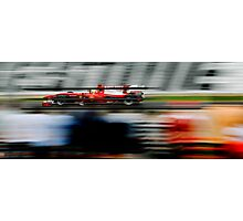 Capturing the Speed - F1 GP - Melbourne 2010 - #1 Photographic Print