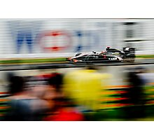 Capturing the Speed - F1 GP - Melbourne 2010 - #2 Photographic Print