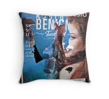 Advertising Throw Pillow