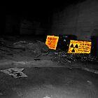 Warning...Radiation. by Chris Hardley