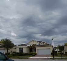 Storm cloud mountians, Tradition, Florida by Allison Hren