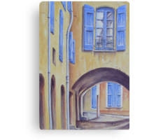 Arch in Provence Canvas Print