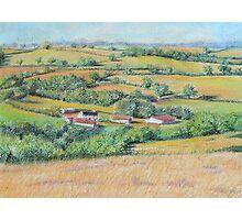 An English Landscape Photographic Print