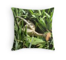 Lost In Jungle Throw Pillow