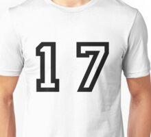 Number Seventeen Unisex T-Shirt