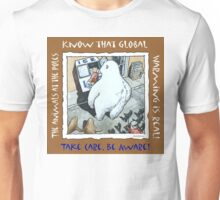Earth-Toon. Global Warming is Real Unisex T-Shirt