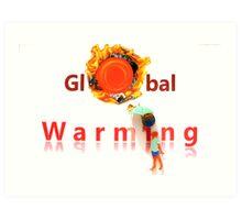 Global Warming Art Print