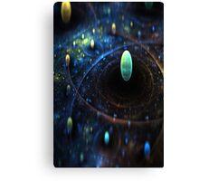 Galaxy Ball Canvas Print