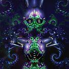 Alien Woman by frogster