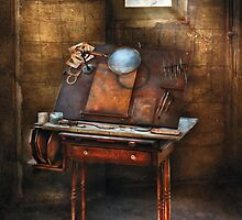 Artist - The etching table by Mike  Savad